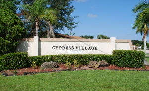 CypressVillageSign